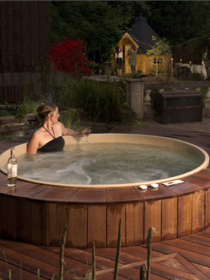 Hot Tub Wood Surrounds