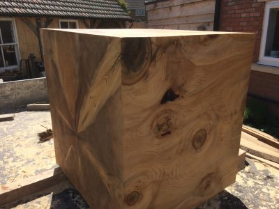 Huge cedar of lebanon block for sale 1m2 £1800+vat